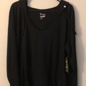Old navy XXL hooded long sleeve shirt, NEW